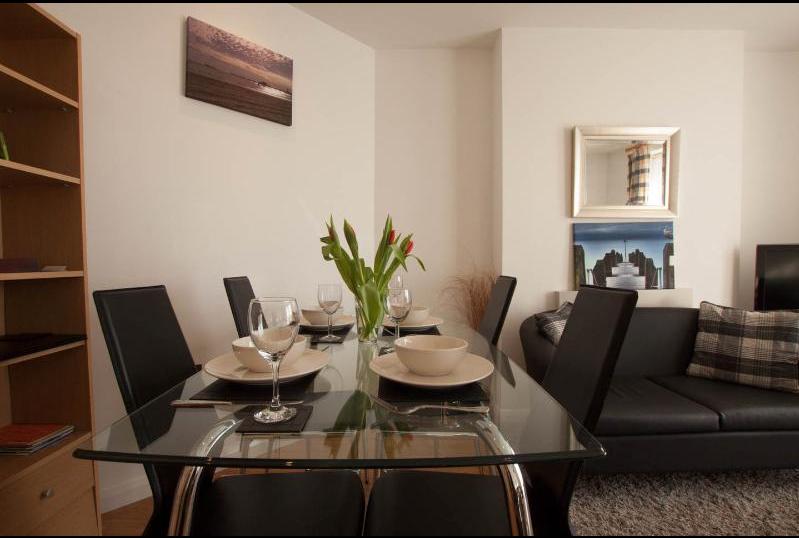 Parc y bryn serviced apartments for Pen y bryn living room